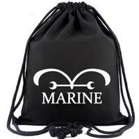ワンピース ONE PIECE ビーム巾着 ナップザック 収納バッグ 海軍