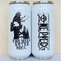 缶型アルミタンブラー ワンピース ステンレス缶型 ボトル 缶ジュース型 水筒 300mml 500mml ONE PIECE