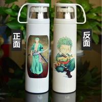 ワンピース ステンレスボトル カップ付き 魔法瓶 水筒 500mml ロロノア・ゾロ ONE PIECE
