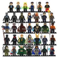 レゴ(LEGO) 互換 アベンジャーズ 34体セット Ver.10