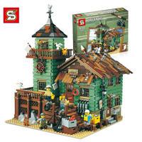 レゴ(LEGO) 互換 アイデア つり具屋 21310相当