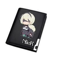 NieR:Automata / ニーアオートマタ 財布 二つ折り 長財布 ロングウォレット カード入れ  Ver.3