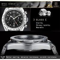 SEKARO メンズ 自動機械式腕時計 防水 ビジネス