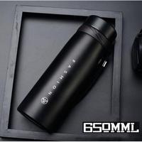 ステンレスボトル 650ミリリットル 魔法瓶 二重壁真空 水筒 水分補給