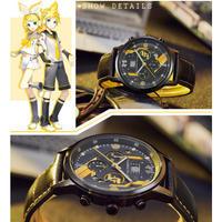 鏡音リン・レン ボーカロイド 腕時計 ウォッチ 公式 海外限定 防水 VOCALOID TypeA