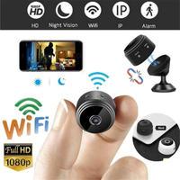 ミニカメラ WIFI ワイヤレス HD 1080p バッテリー ナイトビジョン 小型カメラ 防犯用 ビジネス 会議にも マイクロSD 64ギガ付き