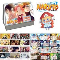 <2020年版> NARUTO -ナルト- 卓上カレンダー 2020年 キャラクター 21×14㎝ 令和