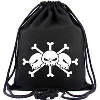 ワンピース ONE PIECE ビーム巾着 ナップザック 収納バッグ 黒ひげ海賊団