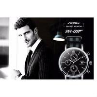 SINOBI クロノグラフ腕時計 james bond 007 防水