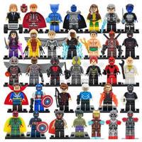 レゴ(LEGO) 互換 アベンジャーズ 34体セット Ver.2