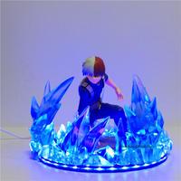 僕のヒーローアカデミア 轟焦凍 LEDライトアクションフィギュア 装飾 インテリア