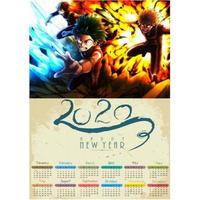 <2020年版> 僕のヒーローアカデミア ポスターカレンダー A3サイズ キャラクター 2020年 42×30㎝  Ver.5