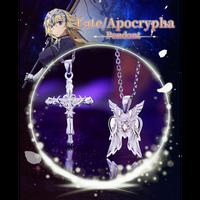 Fate/Apocrypha ジャンヌ・ダルク ネックレス シルバーアクセサリー 925