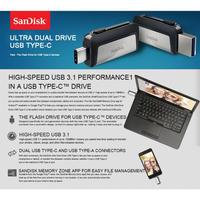 サンディスク  Ultra Dual Drive m3.0 「32GB」 TYPE-C / microUSB PC USBメモリ スマホ フラッシュメモリ