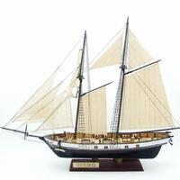 スケールヨットモデル 1:130 DIY 船 アセンブリ モデルキット 古典的 手作り 木製帆船 ボート 子供のおもちゃ ギフト