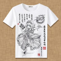 東方Project アリス・マーガトロイド Tシャツ 半袖 インナーシャツ カジュアル 男女兼用