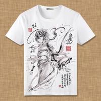 文豪ストレイドッグズ 泉鏡花 Tシャツ 半袖 インナーシャツ カジュアル 男女兼用