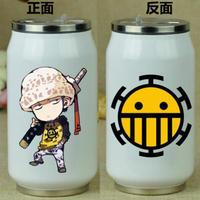 缶型アルミタンブラー ワンピース ステンレス缶型 ボトル 缶ジュース型 水筒 300mml 500mml ONE PIECE トラガルファー・ロー
