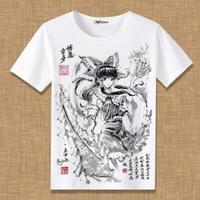 東方Project 博麗靈夢 Tシャツ 半袖 インナーシャツ カジュアル 男女兼用