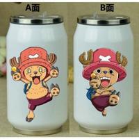 缶型アルミタンブラー ワンピース ステンレス缶型 ボトル 缶ジュース型 水筒 300mml 500mml ONE PIECE チョッパー