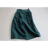 備後節織 のたりズボン( 藍緑、縞藍)