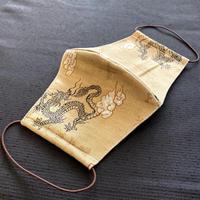 0-4 Vintage KIMONO MASK  (Vintage Dragon storm kimono mask number 1 )