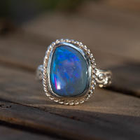 Australian KING BLACK Deep ocean Opal