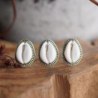 TÍAÑA  Maui handmade dot shell ring jewelry