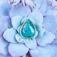 Blue horse lightning gemstone jewelry