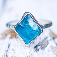 Apatite Ocean Blue WÃVY jewelry