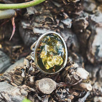 Maui dream green amber jewelry