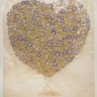 となりの庭の花ふたつ(羽虫と青い花)