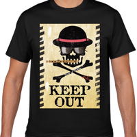 """KEEP OUT"" T shirts XXL size"
