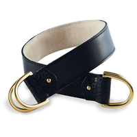 EUPHA SCARF BELT  BLACK