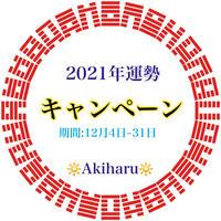 📩【キャンペーン】2021年運勢 · メール鑑定Bコース(期間 : 12月4日~31日)