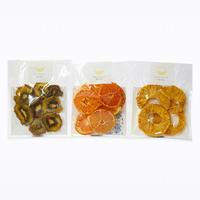 【送料無料】小袋タイプ パイン・キウイ・みかんの3種セット