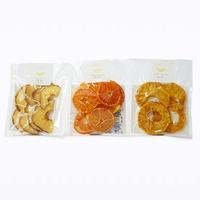 【送料無料】小袋タイプ パイン・厚切りりんご・みかんの3種セット