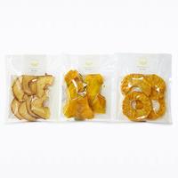 【送料無料】小袋タイプ パイン・マンゴー・厚切りりんごの3種セット