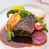 本格濃厚赤ワインソースで楽しむ☆5時間煮込んだ和牛ホホ肉の赤ワイン煮込み
