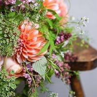 季節のお花のブーケ Luxe