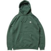 川 刺繍 フーディ  /  green