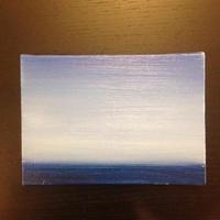 空と海の青
