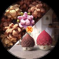 【アキコラセット1B】空の木Garden「栗鼠のごちそう缶」×h.u.g「まつぼっくりのouchi」