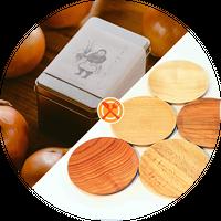【アキコラセット2】空の木Garden「玉ねぎクッキー缶」×佐藤木材容器「おやつプレート」