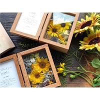 【両親贈呈品】フラワーボックス :sun flower