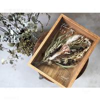 【両親贈呈品】Box  Bouquet : Natural White 1個