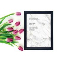 【ウェルカムボード】marble agate(A3)