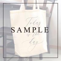 《SAMPLE》【トートバッグ】コットン/5 design