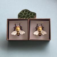 """ミツバチのピンズ Pin Brooch """"Bee"""""""