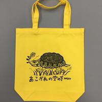 No.24 カメ柄/黄色地/黒色プリント/Mサイズ